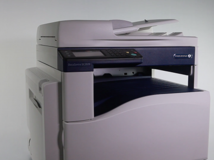 design print printer video vimeo fuji xerox