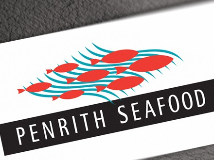 design logo penrith seafood