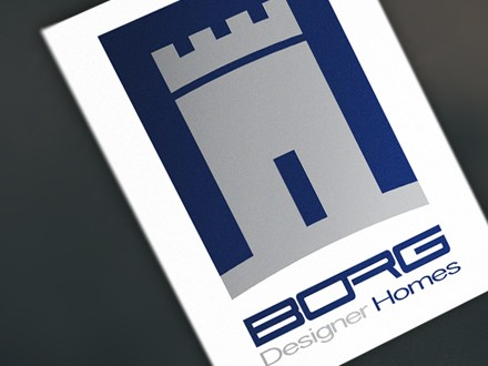 design borg logo brand